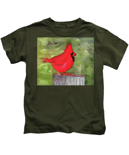 Christopher Cardinal Kids T-Shirt