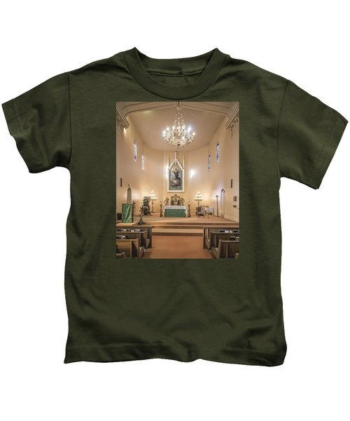 Church Of The Assumption Of The Blessed Virgin Altar Kids T-Shirt