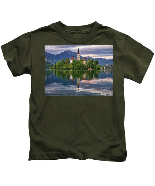 Church Of The Assumption. Kids T-Shirt