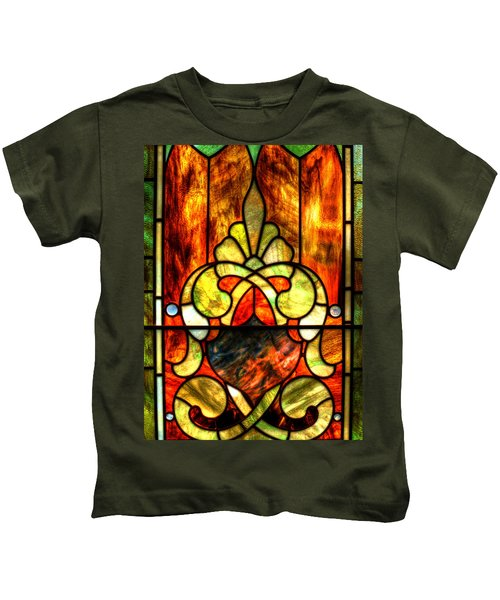 Church Window Kids T-Shirt