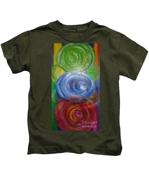 Concentric Joy Kids T-Shirt