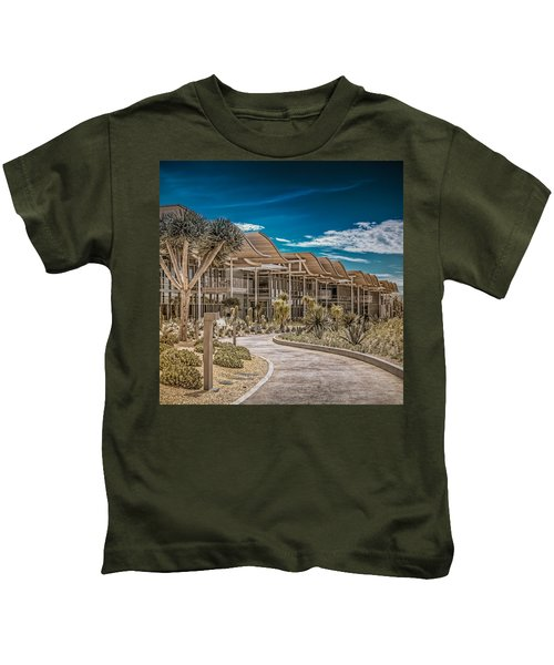 Newport Beach California City Hall Kids T-Shirt