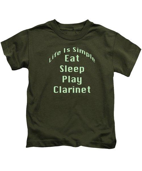 Clarinet Eat Sleep Play Clarinet 5511.02 Kids T-Shirt