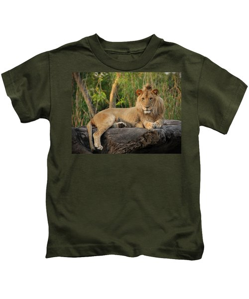 Classic Young Male Kids T-Shirt