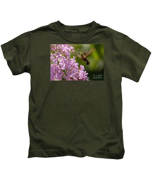 Clearwing Pink Kids T-Shirt
