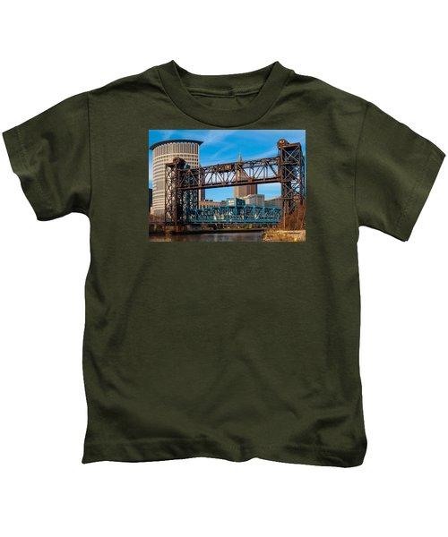 Cleveland City Of Bridges Kids T-Shirt