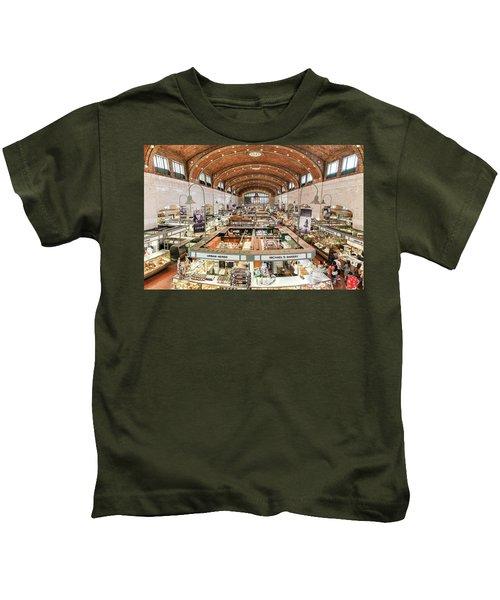 Cleveland Westside Market  Kids T-Shirt