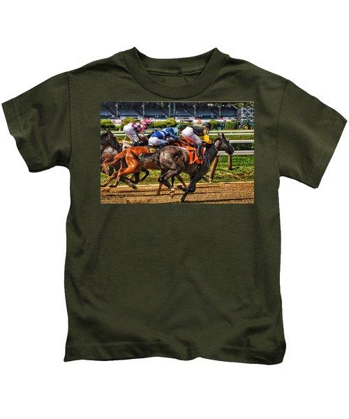 Close Running Kids T-Shirt