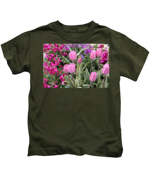 Close Up Mixed Planter Kids T-Shirt