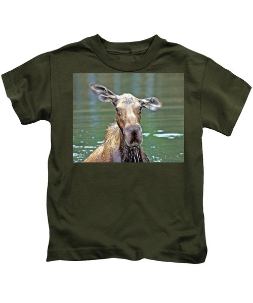 Close Wet Moose Kids T-Shirt