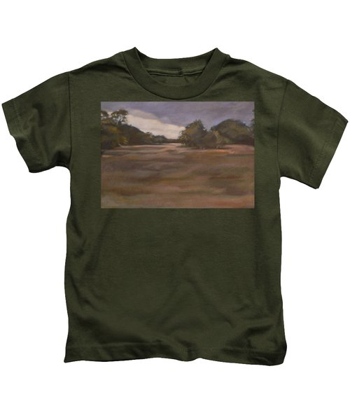 Clouds And Fields Kids T-Shirt