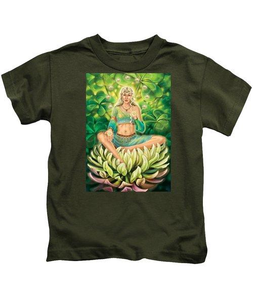 Clover - Gentle Strength Kids T-Shirt