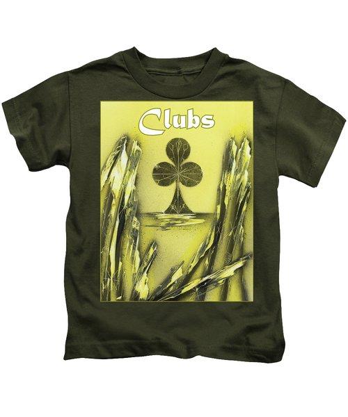 Clubs Suit Kids T-Shirt