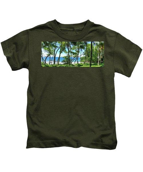 Coata Rica Beach 1 Kids T-Shirt