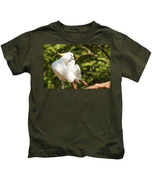 Cockatoo Preaning Kids T-Shirt