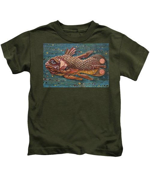 Coelacanth Kids T-Shirt
