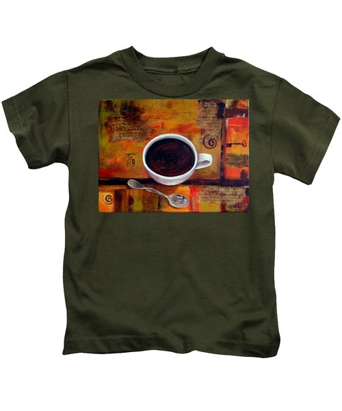 Coffee I Kids T-Shirt