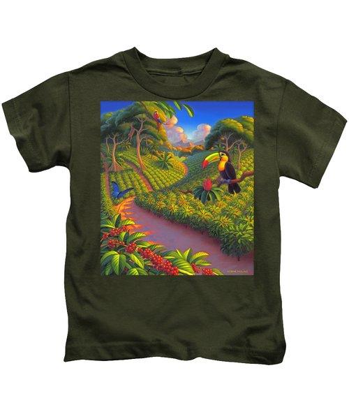 Coffee Plantation Kids T-Shirt