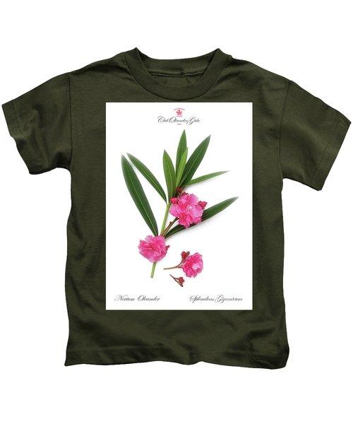 Cog  Nerium Oleander Splendens Giganteum Kids T-Shirt
