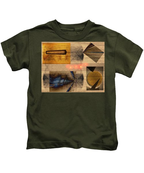 Collage - Cle Airport Kids T-Shirt