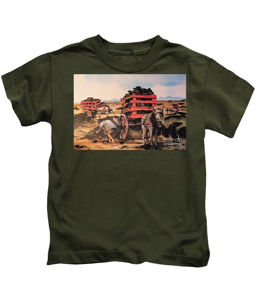 Collecting Turf  Kids T-Shirt