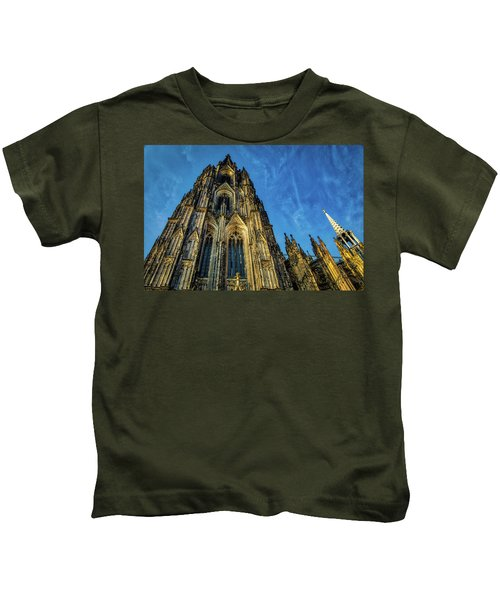 Cologne Cathedral Afternoon Kids T-Shirt