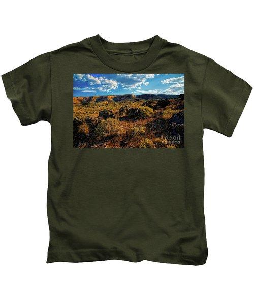 Colorado Summer Evening Kids T-Shirt