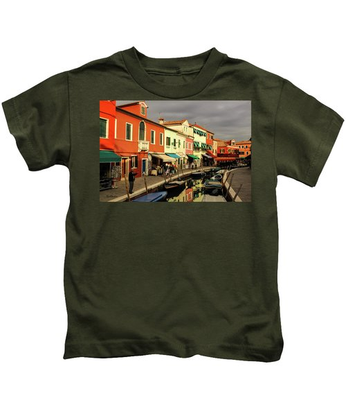 Colorful Burano Kids T-Shirt