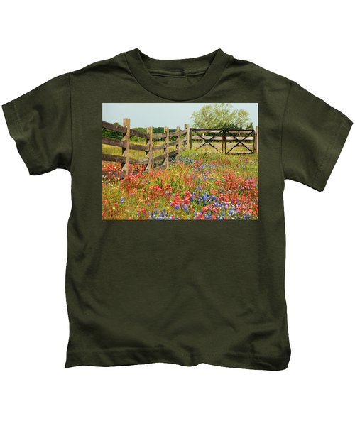 Colorful Gate Kids T-Shirt