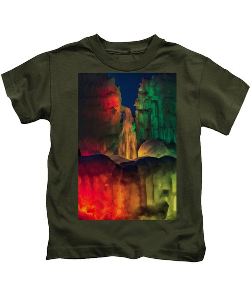 Colorful Ice  Kids T-Shirt