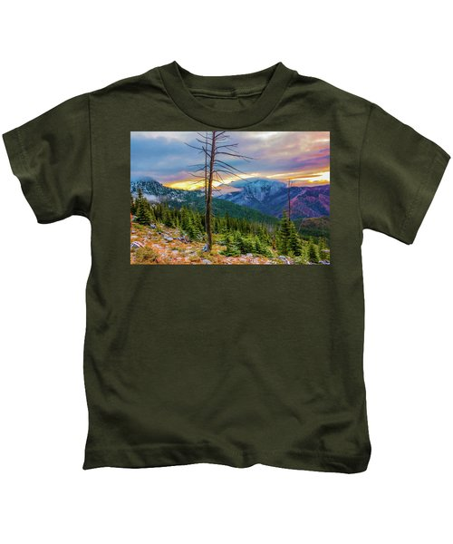 Colorfull Morning Kids T-Shirt