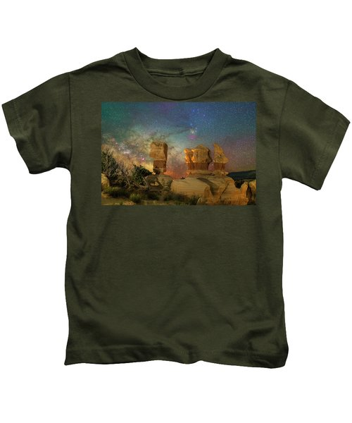 Colors Of Darkness Kids T-Shirt