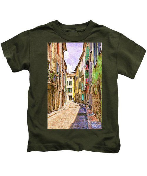 Colors Of Provence, France Kids T-Shirt