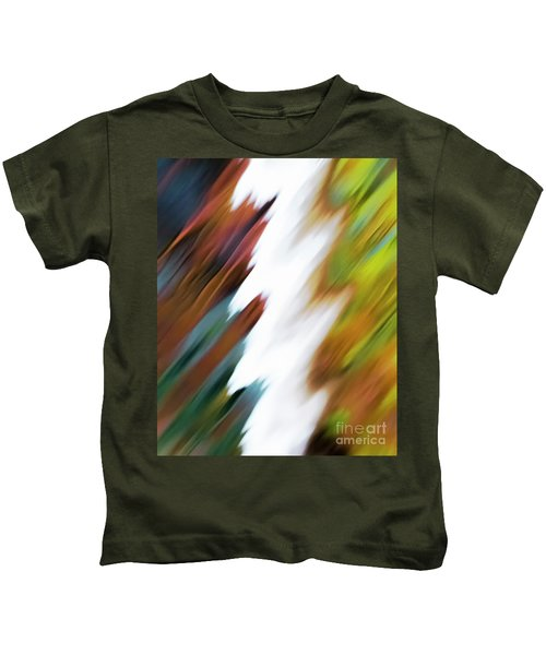 Colors Of Water Kids T-Shirt