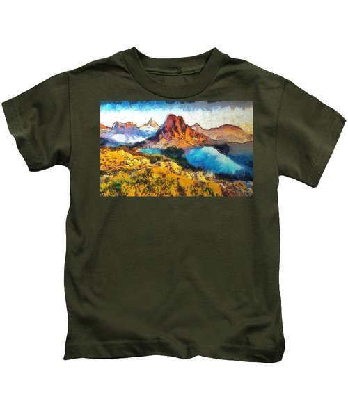 Columbia Lake Reverie Kids T-Shirt