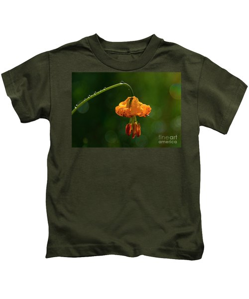 Columbia Lily With Dew Kids T-Shirt