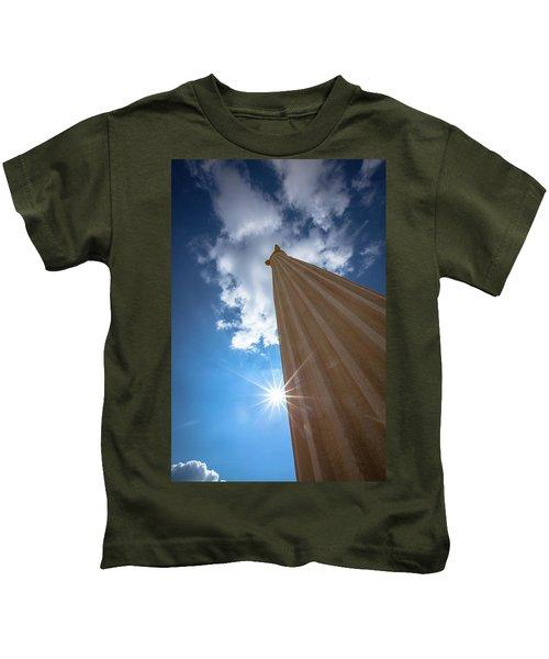 Column To Sky Kids T-Shirt
