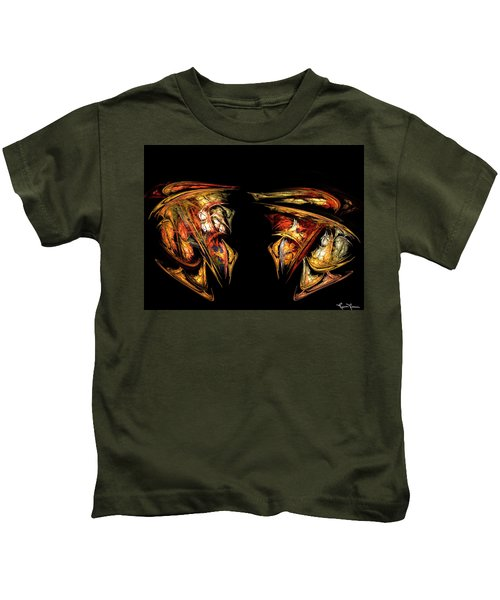 Coming Face To Face Kids T-Shirt