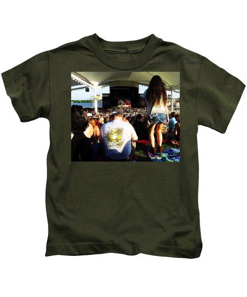 Concert Crowd Kids T-Shirt