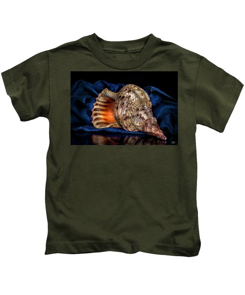 Conch Shell Kids T-Shirt