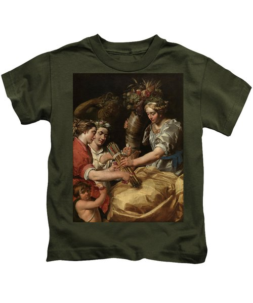 Concord, Charity And Sincerity Conquering Discord Kids T-Shirt