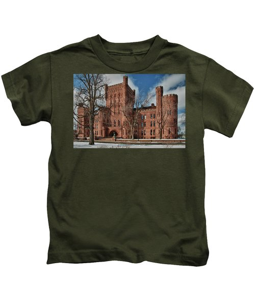 Connecticut Street Armory 3997a Kids T-Shirt