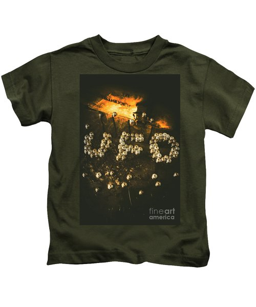 Connecting To Ufology Kids T-Shirt