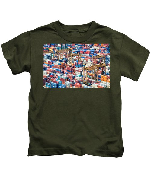 Containers Kids T-Shirt