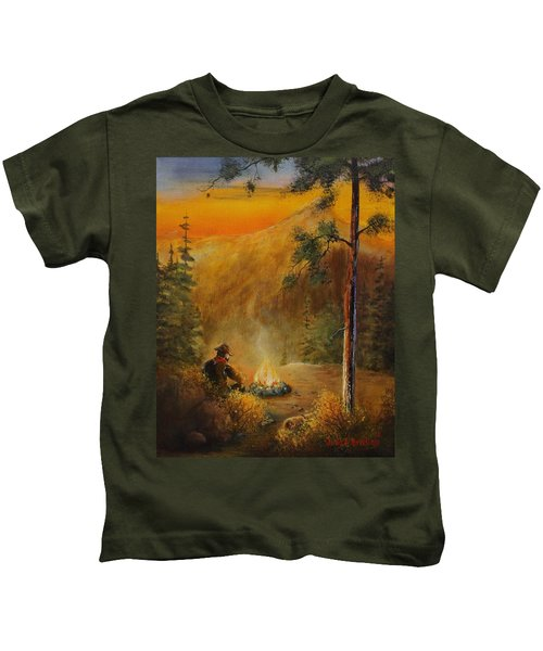 Contemplating The Journey Kids T-Shirt