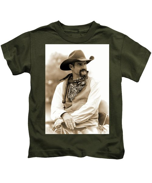 Content In The Saddle Kids T-Shirt