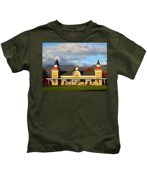 Conway Scenic Railroad 1 Kids T-Shirt