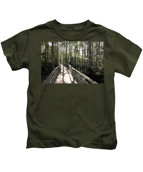 Corkscrew Swamp 697 Kids T-Shirt