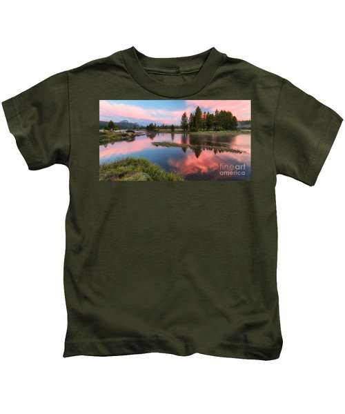 Cotton Candy Skies Kids T-Shirt