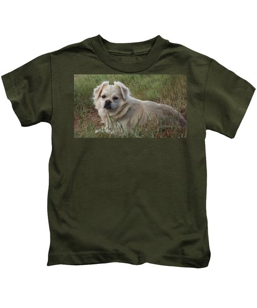 Cotton In The Grass Kids T-Shirt